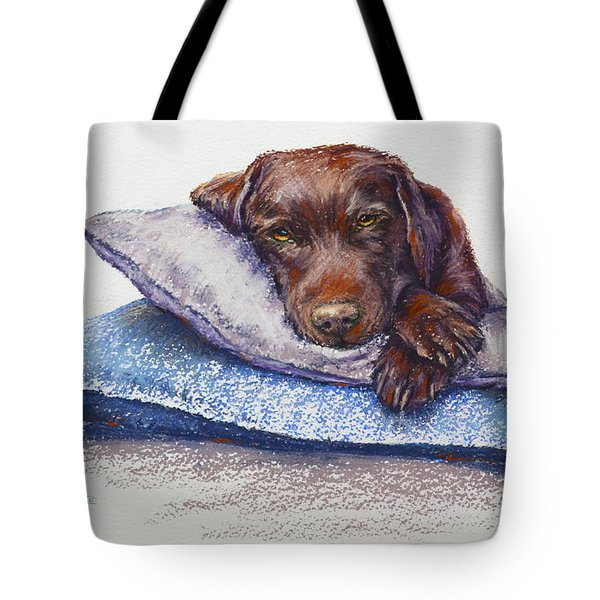 Tote Bag featuring the painting Siesta by Cynthia House