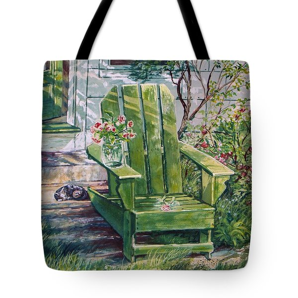 Tote Bag featuring the painting Siesta by Joy Nichols