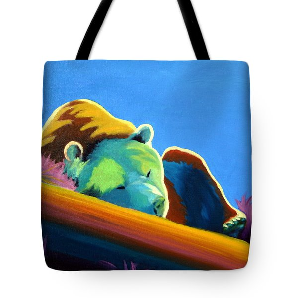 Tote Bag featuring the painting Siesta Time by Nancy Jolley