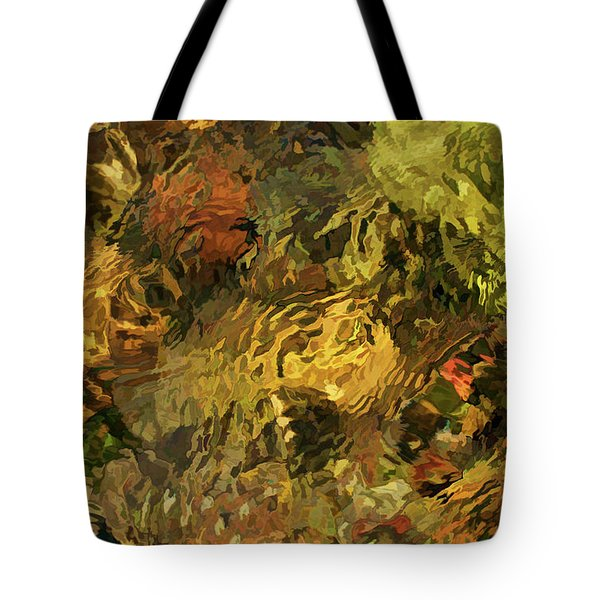 Sight Stream Tote Bag by Britt Runyon