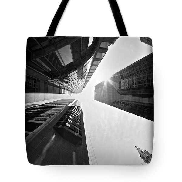Sign In The Sky Tote Bag