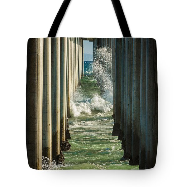 Sign Wave Tote Bag