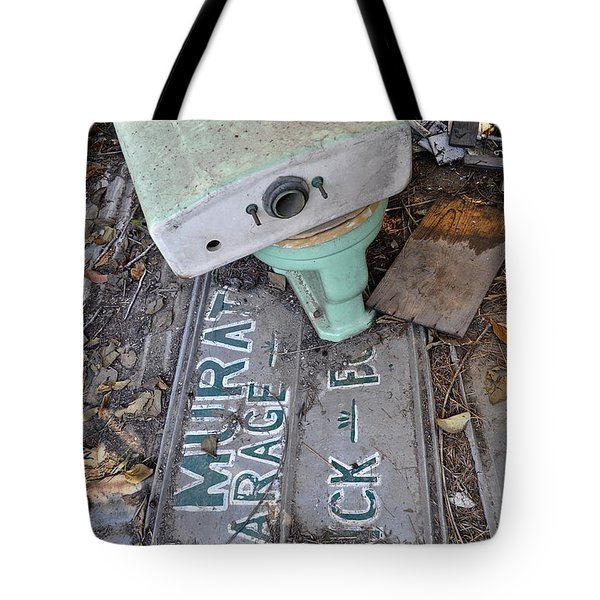 Signage Picking Tote Bag by Gwyn Newcombe