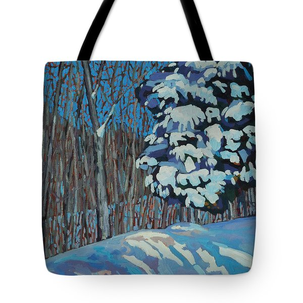 Significant Cedar Tote Bag by Phil Chadwick