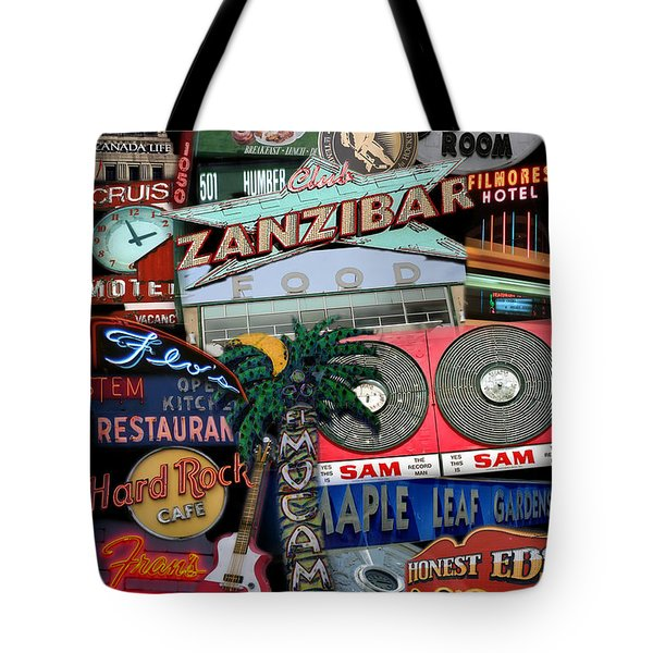 Signs 1c Tote Bag by Andrew Fare