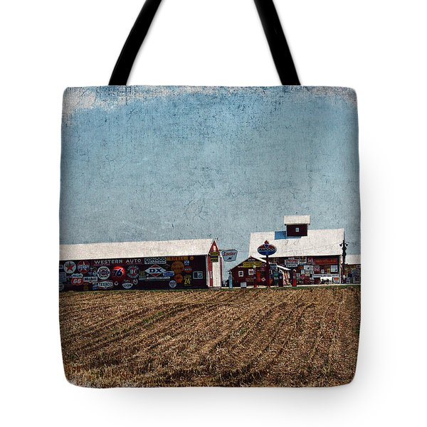 Signs Tote Bag by Cassie Peters