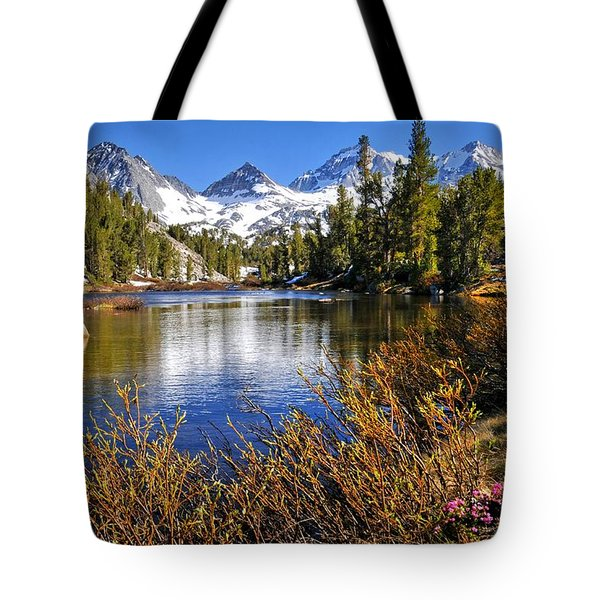 Tote Bag featuring the photograph Signs Of Spring by Lynn Bauer