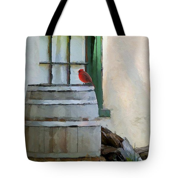 Signs Of Spring Tote Bag by Ron Jones