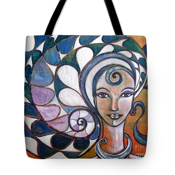Silence Tote Bag by Julie  Hoyle