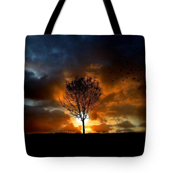 Silence Tote Bag by Lj Lambert