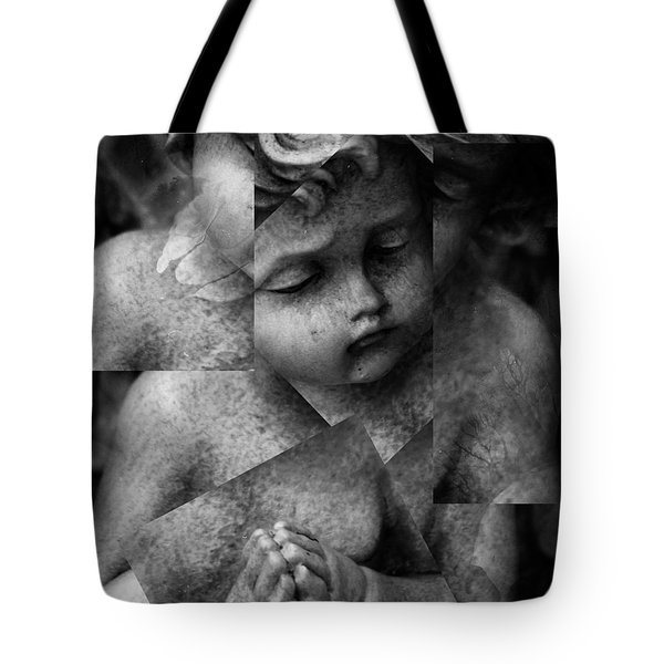 Silence Of A Seraphim  Tote Bag by Jerry Cordeiro