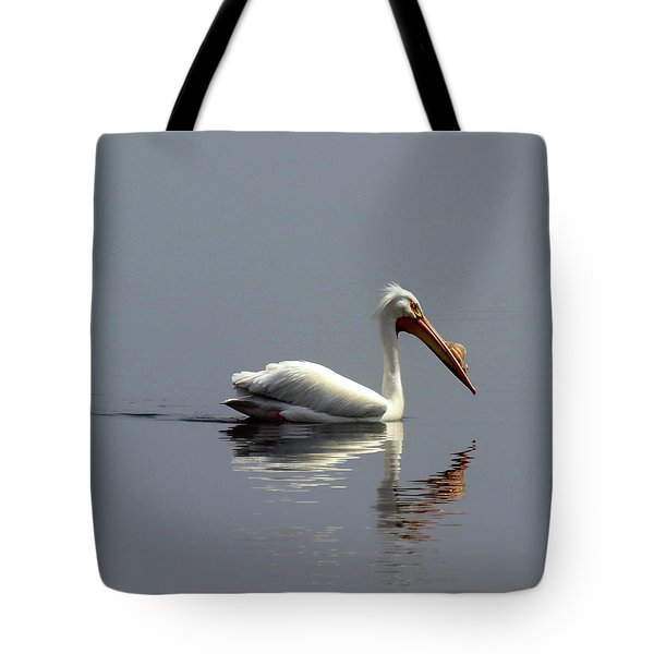 Silent And Reflective Tote Bag by Thomas Young