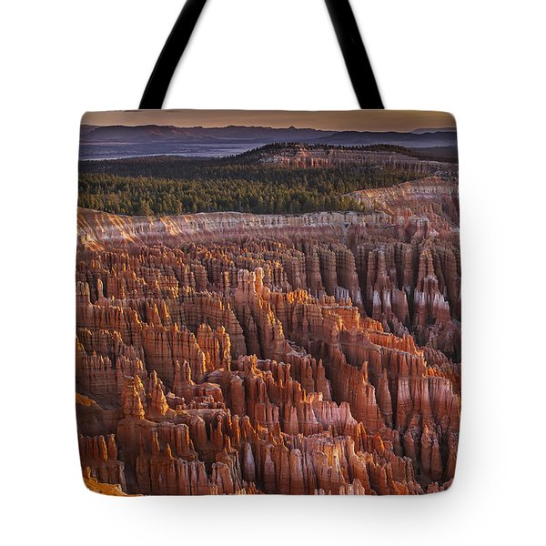 Silent City - Bryce Canyon Tote Bag by Eduard Moldoveanu