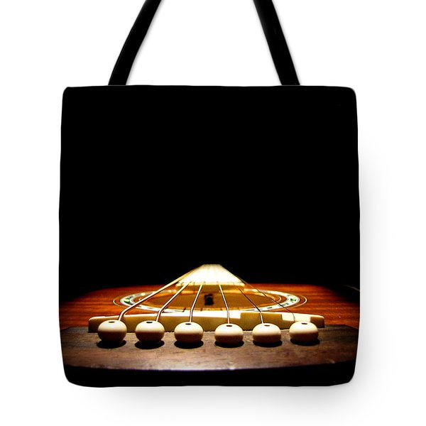 Tote Bag featuring the photograph Silent Guitar by Greg Simmons