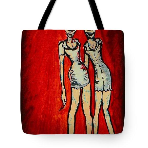 Silent Hill Nurses Tote Bag