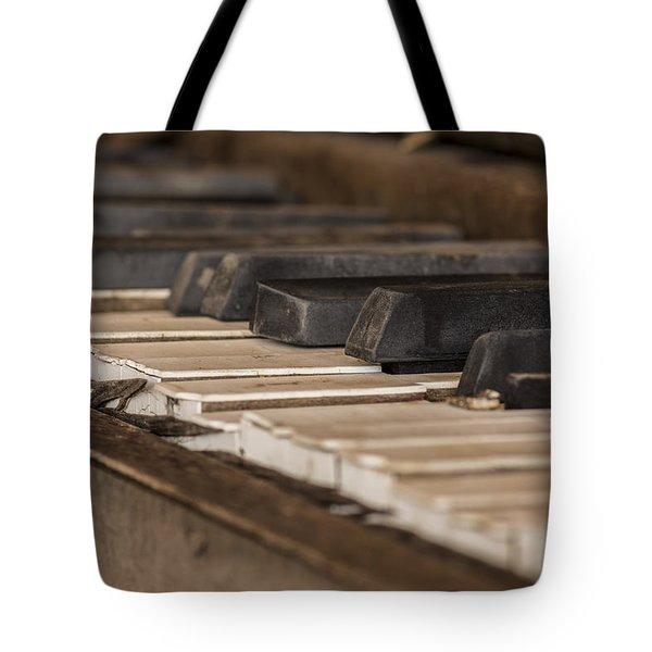 Silent Keys Tote Bag