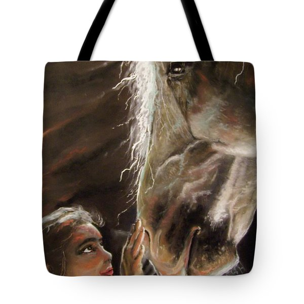 Silent Love Tote Bag by Peter Suhocke