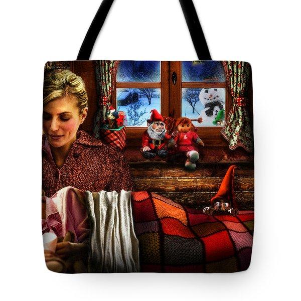 Silent Night Tote Bag by Alessandro Della Pietra