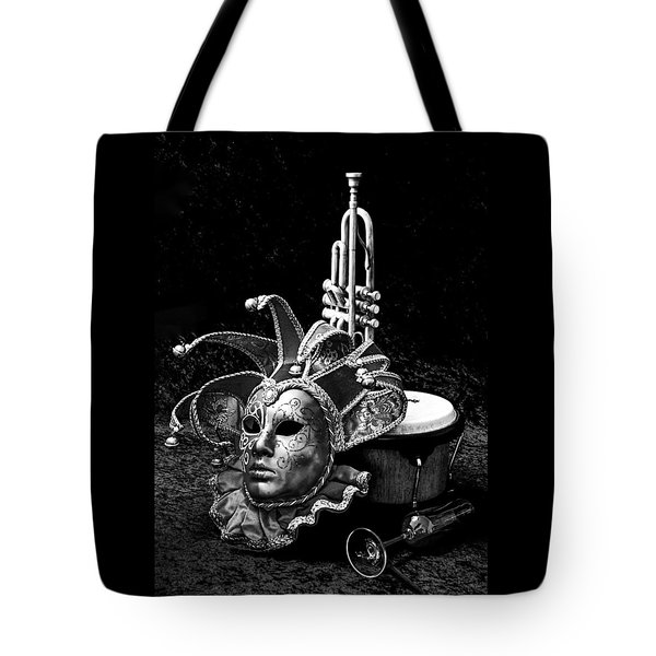 Silent Night In Venice Tote Bag