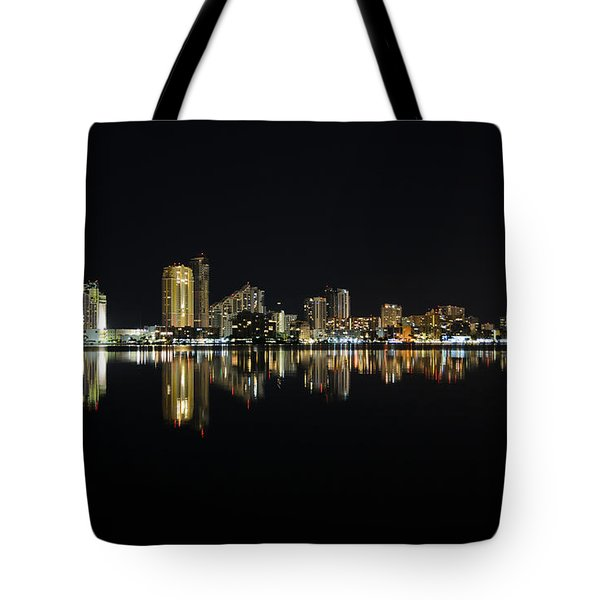 Silent Night Tote Bag by Keith Armstrong