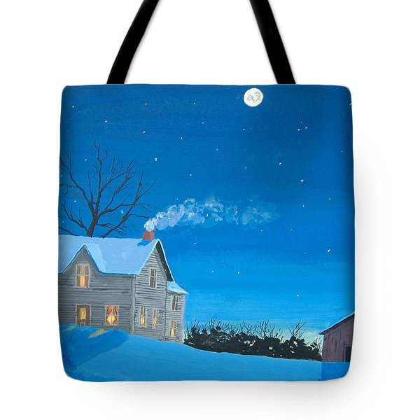 Silent Night Tote Bag by Norm Starks