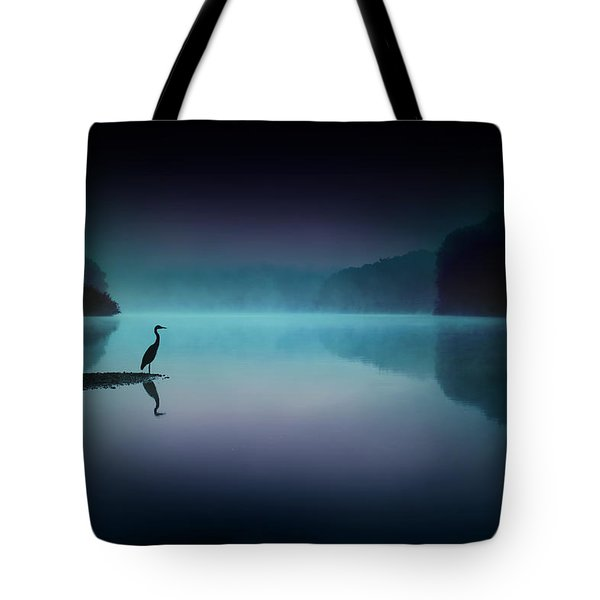 Silent Night Tote Bag by Rob Blair