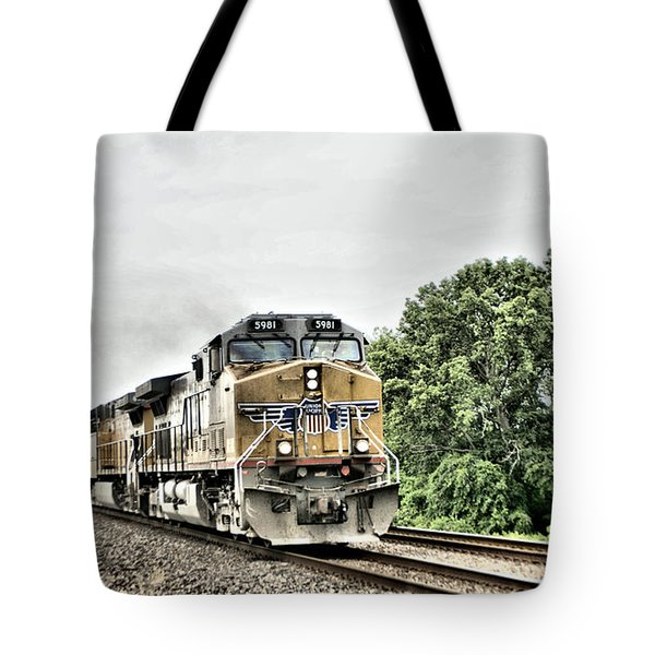 Silent Occupation Tote Bag by Joe Russell