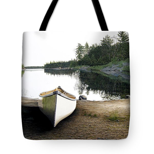Silent Retreat Tote Bag