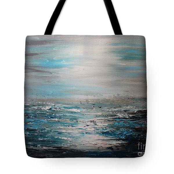 Silent Sea Tote Bag