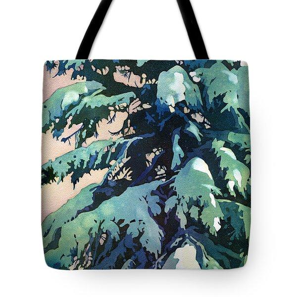 Silent Season Tote Bag