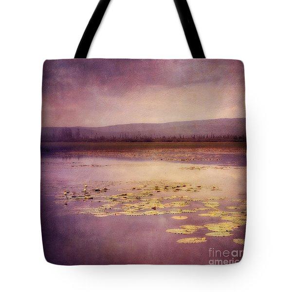 Silent Water  Tote Bag