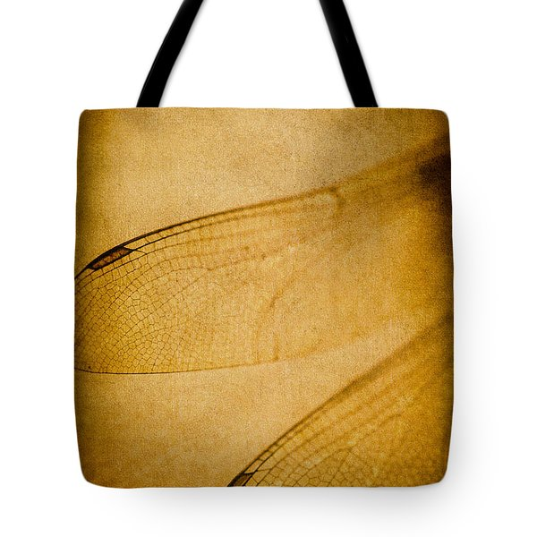 Silent Wings Tote Bag by Jan Bickerton