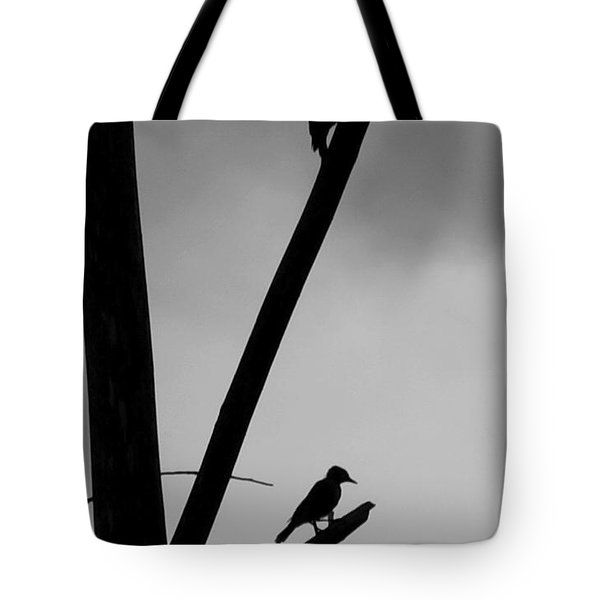 Silhouette 1 Tote Bag by Joe Faherty