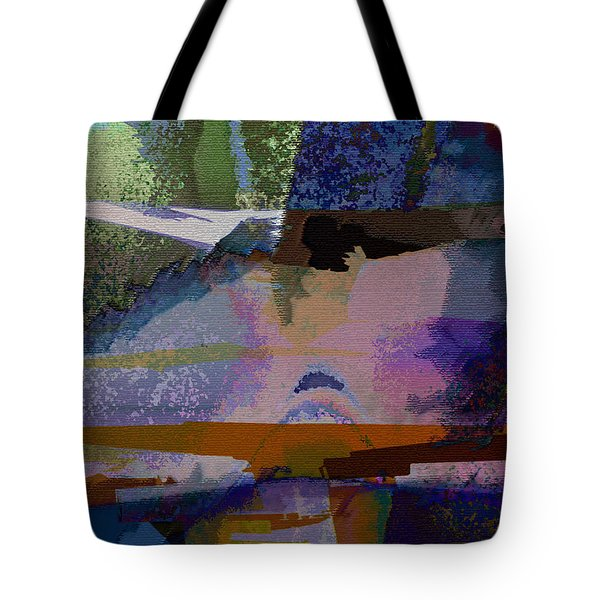 Tote Bag featuring the photograph Silhouette And Shadows by David Pantuso