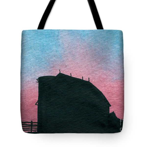 Silhouette Farm Number 1 Tote Bag