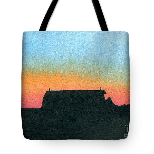 Silhouette Farmstead Tote Bag