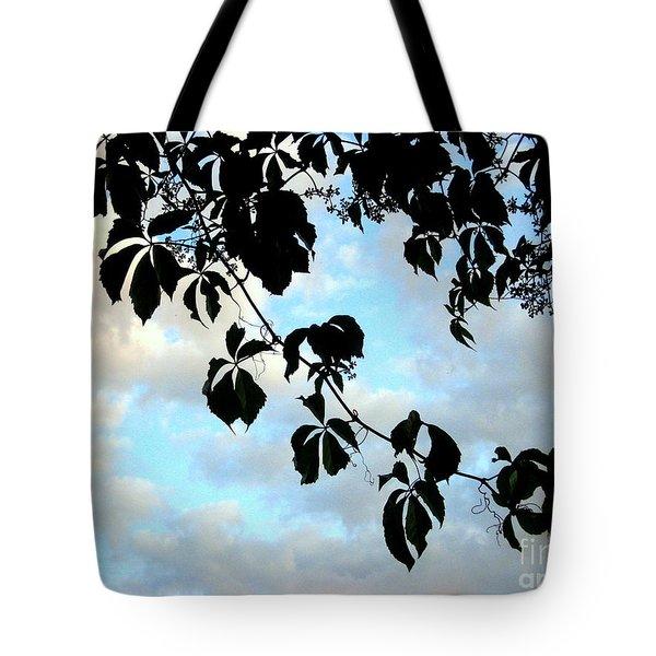 Silhouette Tote Bag by Kathy Bassett