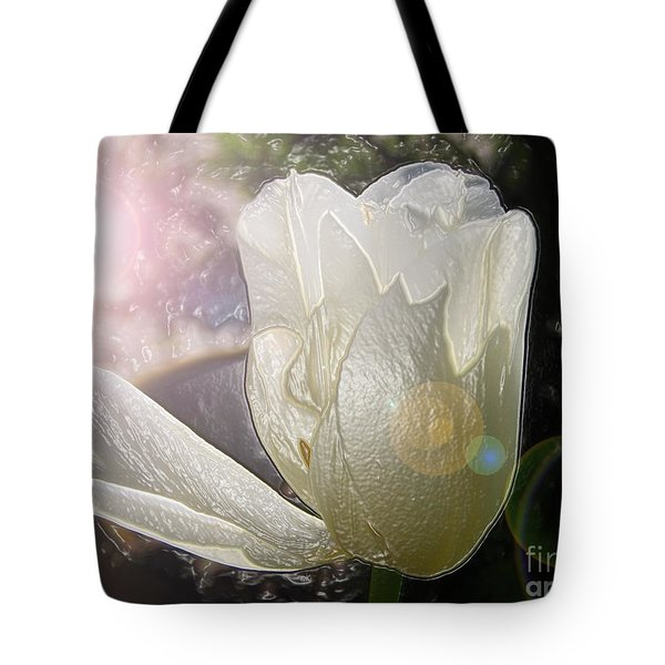 Siliconic Surreality Tote Bag by Roxy Riou