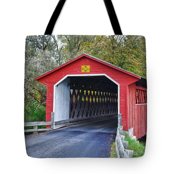 Silk Bridge 8258 Tote Bag