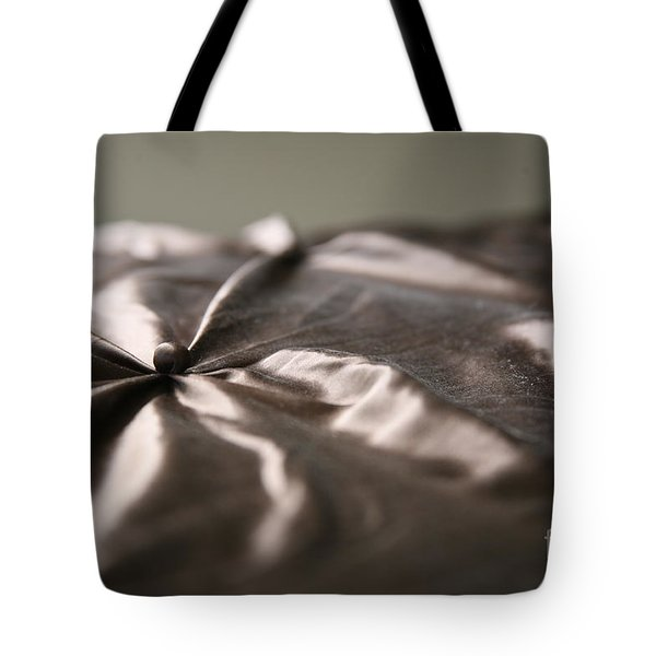 Silk Tote Bag by Lynn England