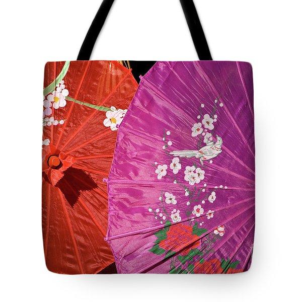 Silk Parasols 01 Tote Bag