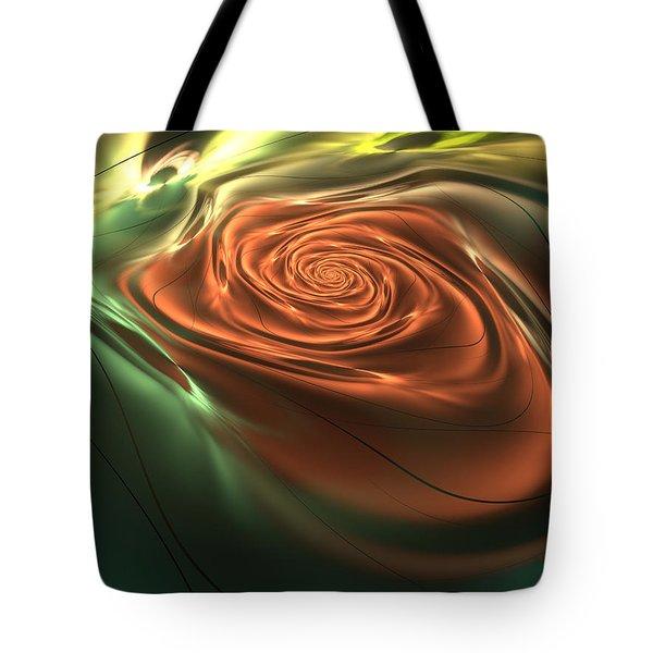 Silk Rose Tote Bag