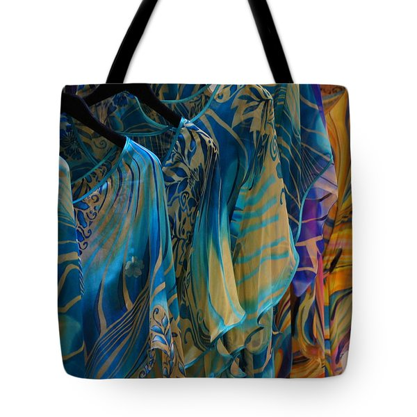 Silk Tops Tote Bag