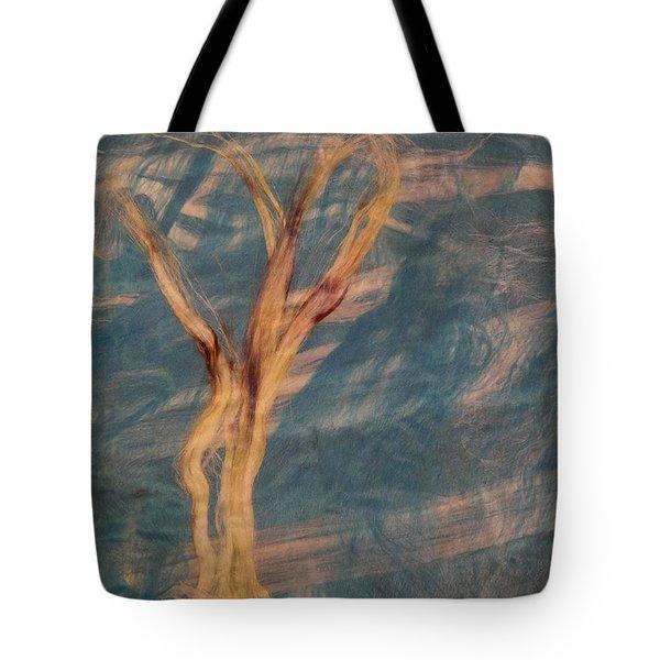 Silk Trees Tote Bag by Aliceann Carlton