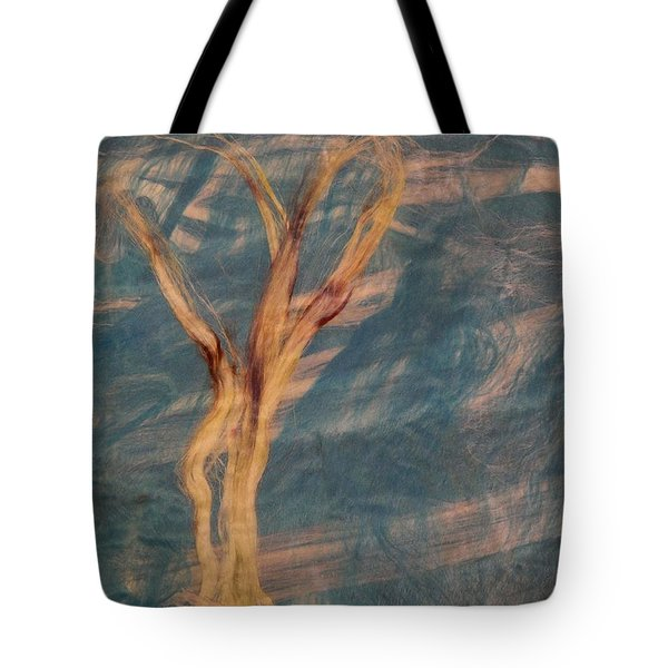 Tote Bag featuring the digital art Silk Trees by Aliceann Carlton