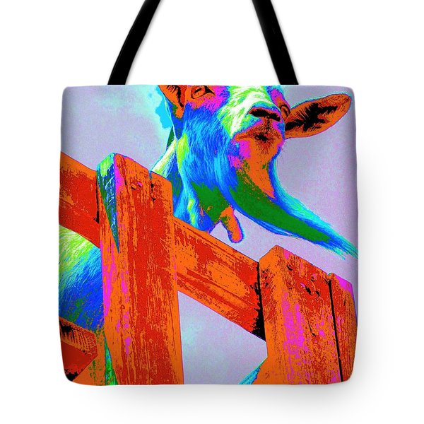 Silly Billy In Many Colors Photo Impressionism Tote Bag by Annie Zeno