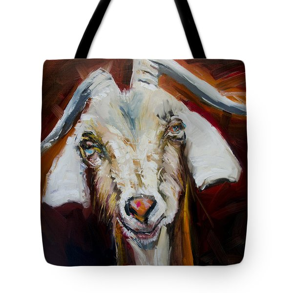 Silly Goat Tote Bag