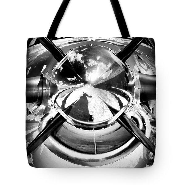 Silver 12 Tote Bag by Paul Job