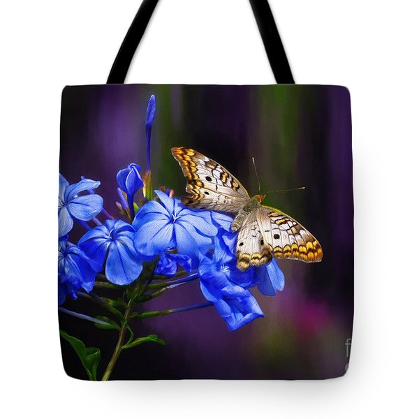 Silver And Gold Tote Bag by Lois Bryan