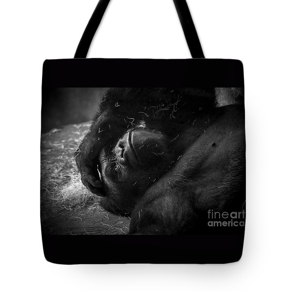 Deep In Thought Of Freer Times Tote Bag